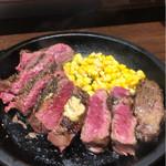 いきなりステーキ - いつもより美味しかったけど切れてたり切れてなかったり部位が変わったりって有りなの?