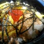 福住 - 料理写真:鮭イクラ丼。