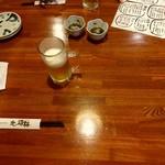 居酒屋 北の酒林 - 【2017.6.9(金)】テーブル席