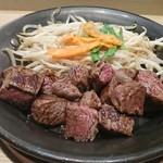 鉄板TOKYO - ランチ イチボのステーキ ミディアム