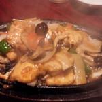 龍記 - あんかけ肉豆腐