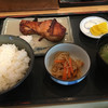 Uoshin - 料理写真:時鮭のカマ焼き定食(1500円)