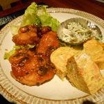 オキナワダイニング ブランチュ - 日替わり定食(チキンのゴーヤソース和え・ランチ)