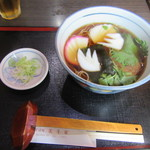 美斗家 - 料理写真:おかめそば 750円