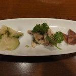 アジアンヌードル 展 - 前菜3種