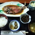 さくら - 煮魚定食1620円