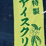 伊豆手作り菓子工房グリーンヒル土肥 - 枇杷アイス450円