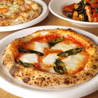 天然酵母のピッツァと窯焼き料理の店