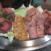 さつま苑 - 料理写真:タン、ホルモン、ロース、カルビ