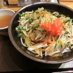 いわもとQ - 野菜そば500円