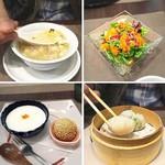 HAMA SYOU - スープ サラダ デザート 点心2種