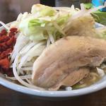 郎郎郎 - らーめんプチ(650円) 野菜多め
