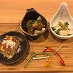 串処 ほとり 灯鳥 - 前菜