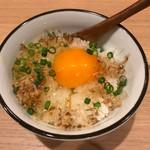 串処 ほとり 灯鳥 - 卵かけごはん