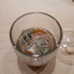 くろ﨑 - 赤貝とじゅんさいともずく