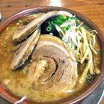 麺屋 一本気 - みそらー麺・ちゃーしゅう(大盛)(2011年2月)