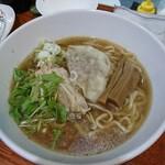 昆鰹和味庵 優味ん - 塩チャーシューワンタン麺