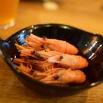 燻製と地ビール 和知 - お通し 2017.6