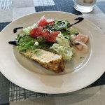 イタリア酒場料理 チェリーナ邸 - サラダと前菜3種