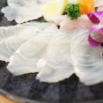 ひょうたん寿司 - ひらめ