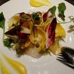 ブラッスリーアムール - 本日のお魚のカルパッチョ