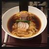 SOBA DINING QUATTRO(ソバダイニング クワトロ) - 料理写真:山 熟成醤油鶏そば 780円