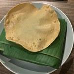 アプサラ レストラン&バー - 「スリランカカレーのバナナリーフ包み」1,600円