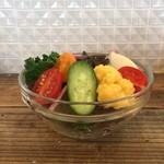 68338114 - 旬の地場野菜サラダ