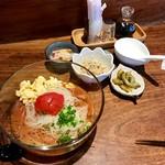 DiningBarTOMATO - とまと冷麺セット(冷やご飯付き)