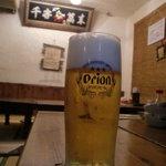 山原屋 - 料理写真:とりあえず、オリオンで乾杯☆