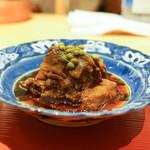 肉屋 雪月花 NAGOYA - テール煮込みに実山椒