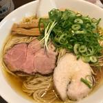 麺's ナチュラル - 煮干SOBA大盛り