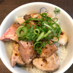麺's ナチュラル - チャーシュー丼