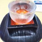 どんた - 日本酒冷酒 400円(税込)(2017年6月10日撮影)