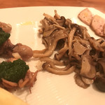 パイス バスコ - 前菜② いろいろ盛り合わせ