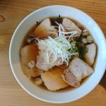 中華そば さかきや - 料理写真:2017年5月 肉そば 濃口 1000円