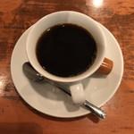 コーヒーの店 ひだか - ドライカレー ¥850 に付くコーヒー
