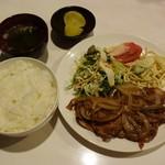 Raika - ガリ豚セット
