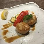 Teppanyakigurou - ホタテ