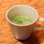 幸正 - セットの牛スープ