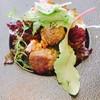 ビストロ・ラ・カシェット - 料理写真:砂肝のコンフィ、クルミ風味のヴィネグレッドソース