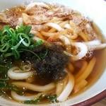 串カツ田中 - 食べたかったかすうどん。