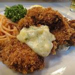 洋食ブルドック - カキフライ