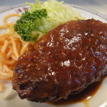 洋食ブルドック - ハンバーグステーキ