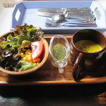 カフェ ド ラフェット - サラダ&スープ