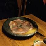 68351358 - 極上大判炙り寿司-炙り後