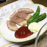 ナカジマ酒店 - ハムステーキ♪