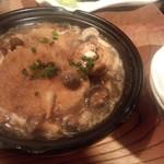 魚金 - 鶏つくねきのこ焼き(680円)