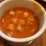 シズラー - トマトのクリームスープ