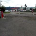 一好食堂 - 広い駐車場